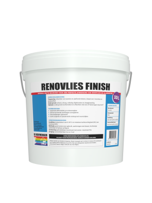 Renovlies Finish | Direct op Renovlies dekkende muurverf